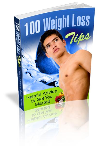 100 tips gå ner i vikt